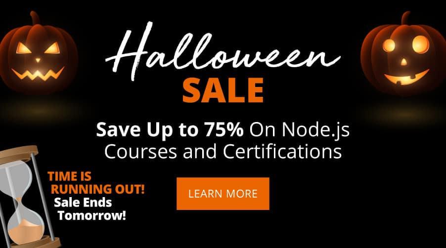 NodeJs Halloween Promo