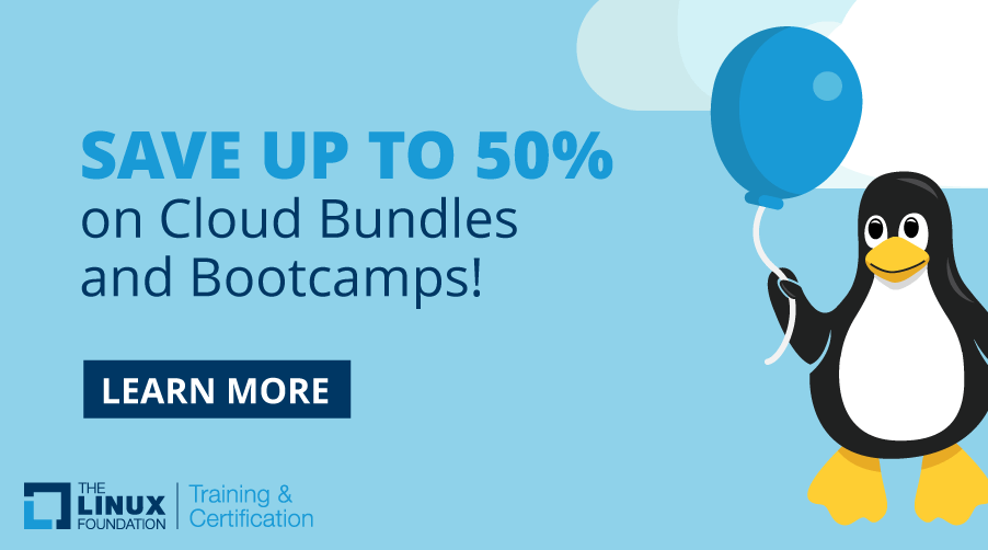 LinuxFoundation_50percentoff_cloudbundles_bootcamps